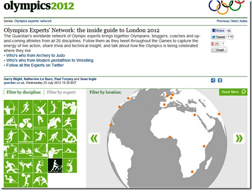 Olympic experts' network